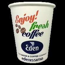 Kaffeebecher Kaffeeautomat Kaffeemaschine Eden kalt warm