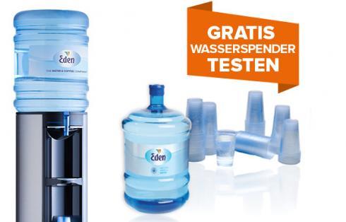Gratis Wasserspender testen