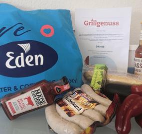 Sommergrillen bei Eden – dieses Jahr etwas anders…